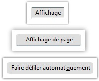 Faire defiler automatiquement