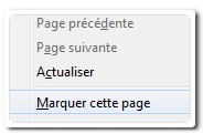 Marquer cette page